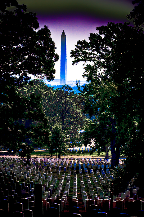 America Photograph - Arlington by David Hahn