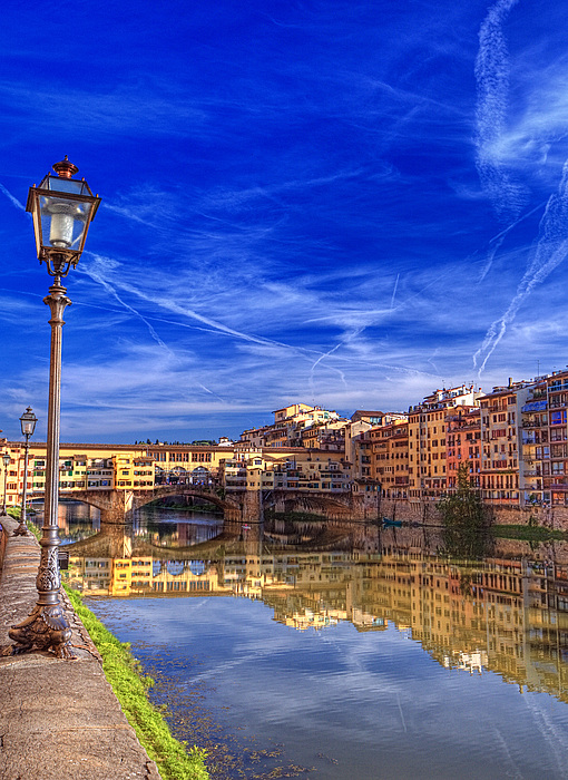 Arno Photograph - Arno River Florence by Clint Hudson