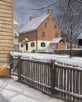 Architectural Painting - Around The Corner by Dan Butner
