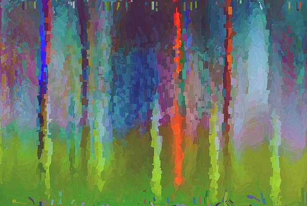 Art Abstract Painting by Jim Hatch