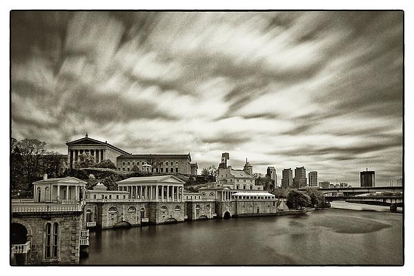 Philadelphia Art Museum Photograph - Art Museum Time Exposer by Jack Paolini