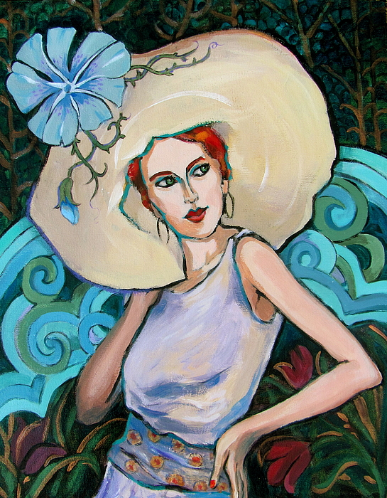 Art Nouveau Painting by Dianna Willman