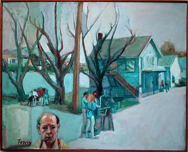 Garrison Painting - Artists At Garrison by Anthony Toney