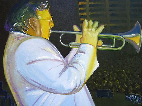 Arturo Painting by Jose Julio Perez