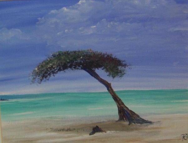 Aruba Painting - Aruba  by Richard Finnell