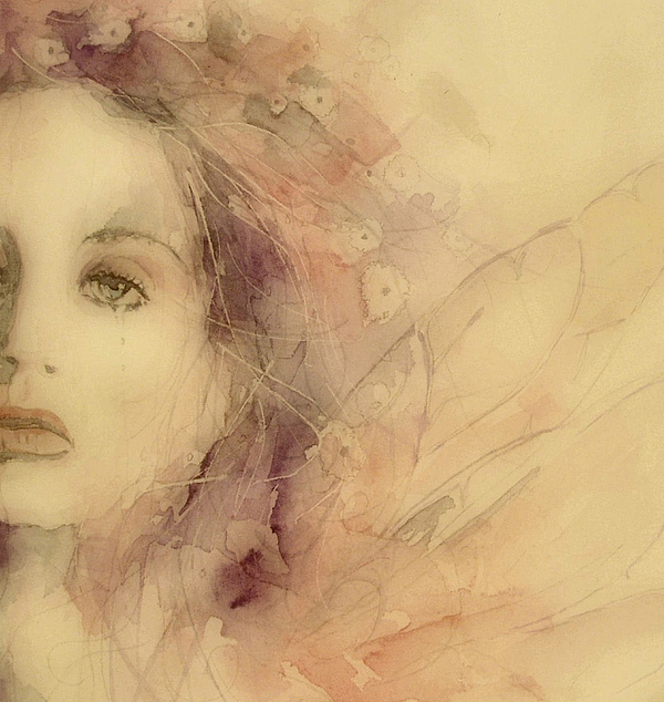Singer Painting - As Tears Go By by Paul Lovering