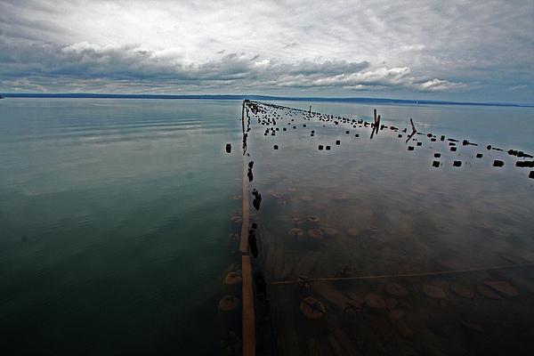 Ashland Photograph - Ashland Ore Dock by Ty Helbach