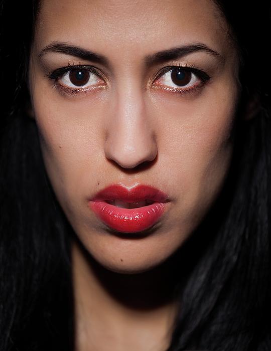 Portrait Photograph - Asmina by Dmitriy Chursin
