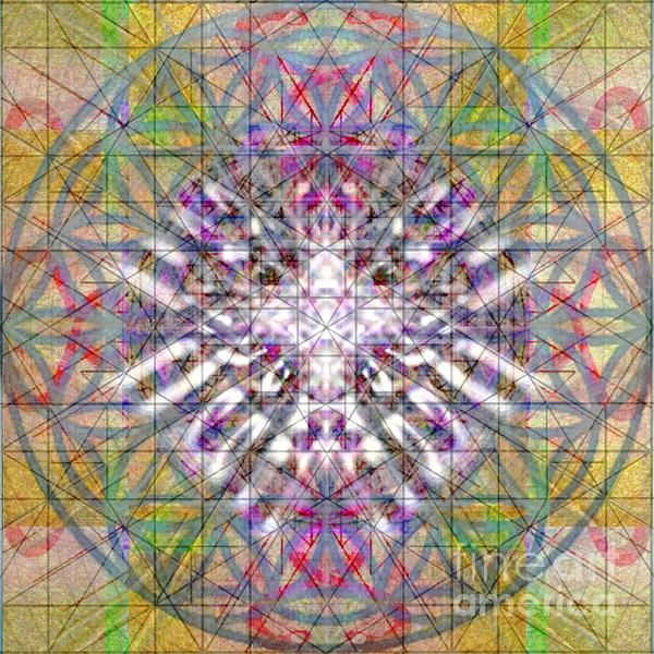 Assent Digital Art - Assent From The Womb In The Flower Tree Of Life by Christopher Pringer