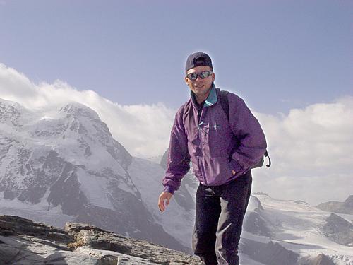 Switzerland Photograph - at Matterhorn Switzerland by Angel Ortiz