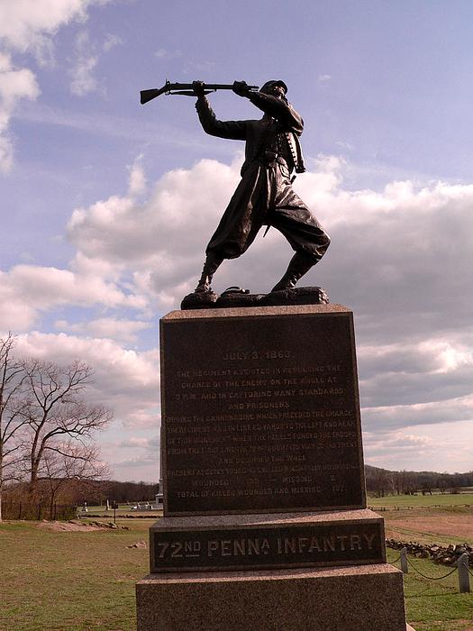Gettysburg Pennsylvania Photograph - At The Angle by David Bearden