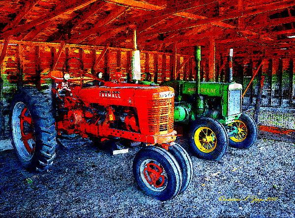 Farm Photograph - At The Ready by Christine S Zipps