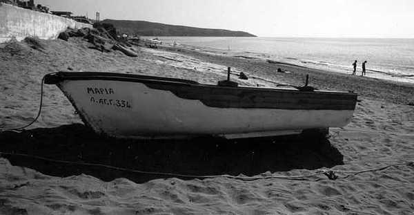 Boat Photograph - At The Sea Of Libya by Susan Chandler