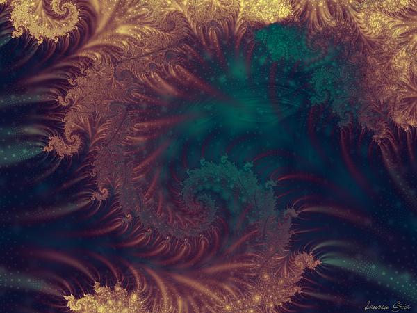 Atlantis Digital Art - Atlantis by Lauren Goia