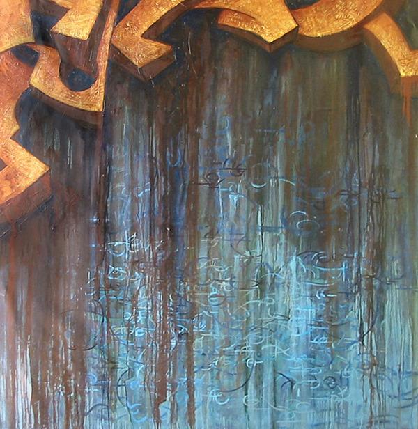 Atlantis Painting - Atlantis by Monica James