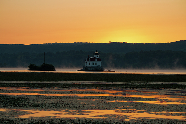 Lighthouse Photograph - August Dawn At Esopus Light II by Jeff Severson