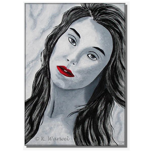 Model Painting - Aurelia by Klaudia Warwel