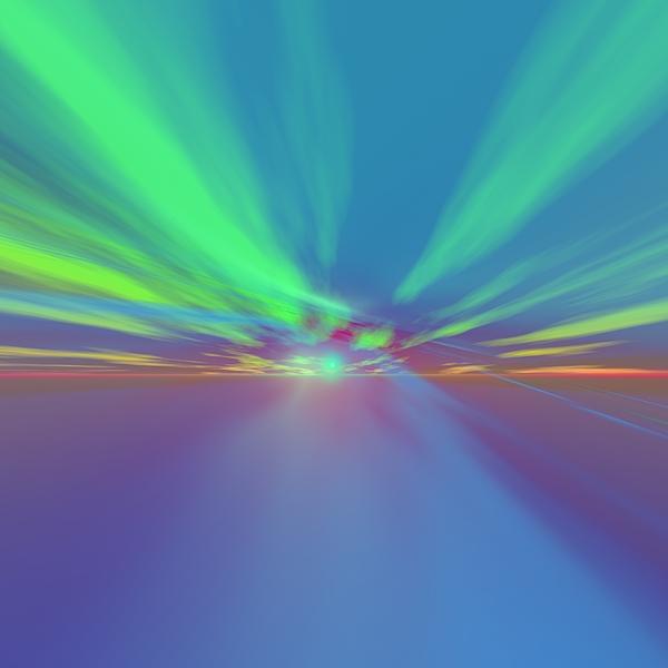 Aurora Digital Art - Aurora Borealis In Arctic Sea by Taketo Takahashi