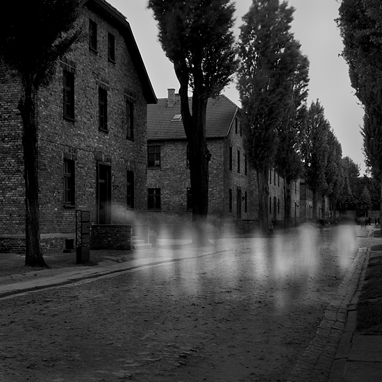 B&w Photograph - Auschwitz No. 1 by Cole Thompson