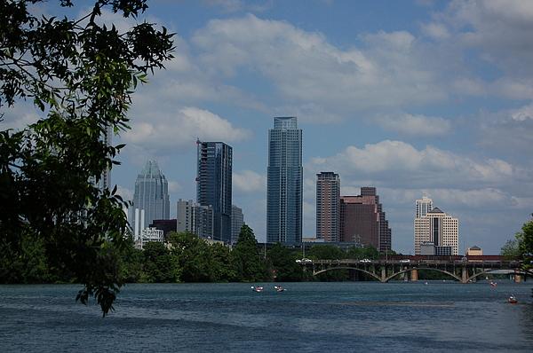 City Photograph - Austin Skyline by Siobhan Yost