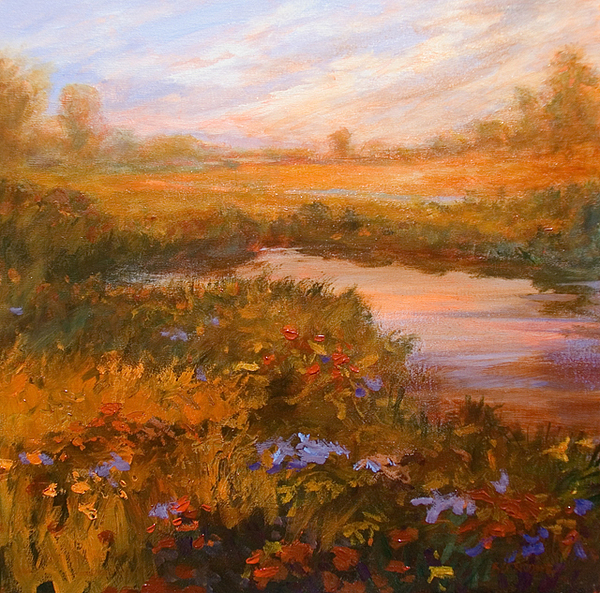 Impressionist Painting - Autumn Arrives by Jan Blencowe
