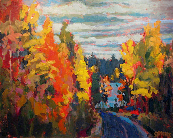 Paintings Painting - Autumn by Brian Simons