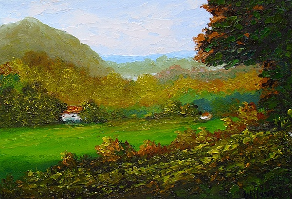 Landscape Painting - Autumn by Fred Wilson