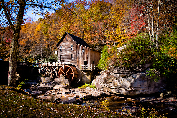 Autumn Photograph - Autumn Morning In West Virginia by Jeanne Sheridan