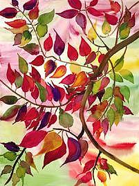 Autumn Painting by Pratibha Garewal