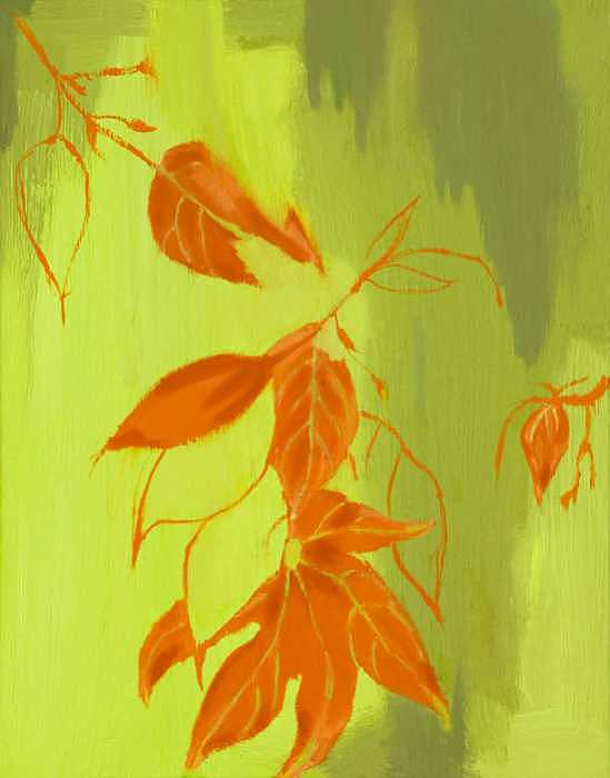 Autumn Painting by Sheilah Yearwood