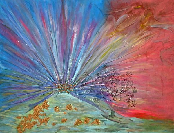 Avalon Painting - Avalon by Marie Halter