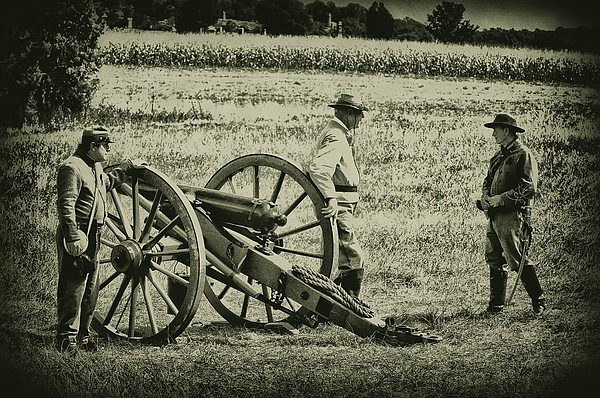 Gettysburg Photograph - Awaiting Orders by Bill Cannon