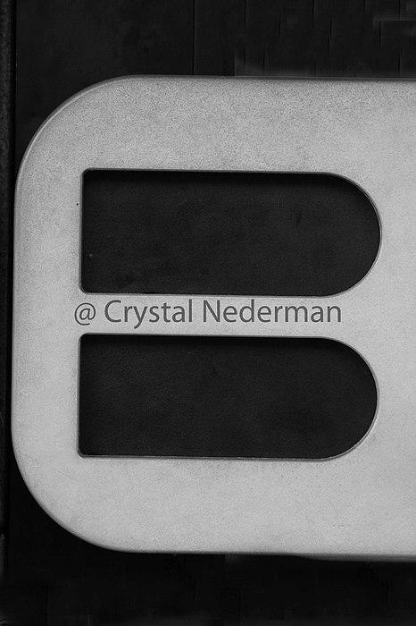Alphabet Photograph - B-9 by Crystal Nederman