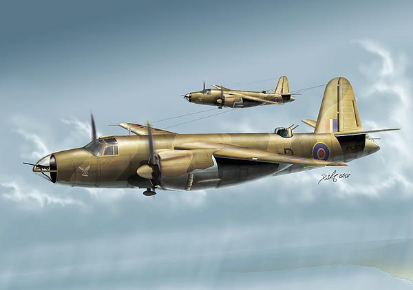 Aircraft Digital Art - B26 Mk by Daniel Uhr