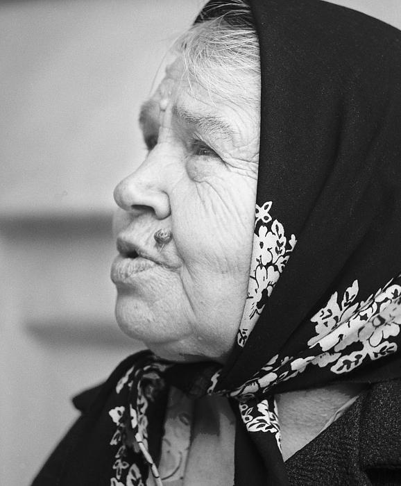 Babushka Photograph - Babushka Zagorsk Russia by Richard Singleton