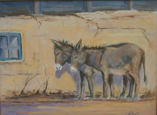 Painting Painting - Back Alley Siesta by Marla Smith