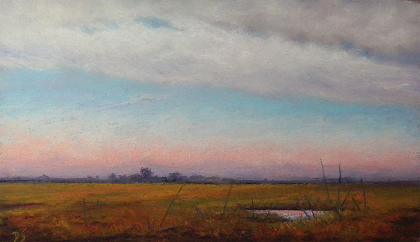 Cap Pastel - Back Road To Cape May by Deb Spinella