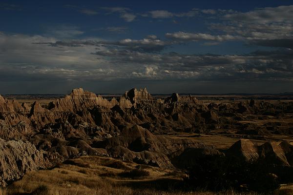 Badlands Photograph - Badlands National Park by Benjamin Dahl