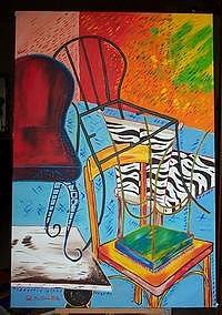 Paintings Painting - Balance by Marilena Pilla
