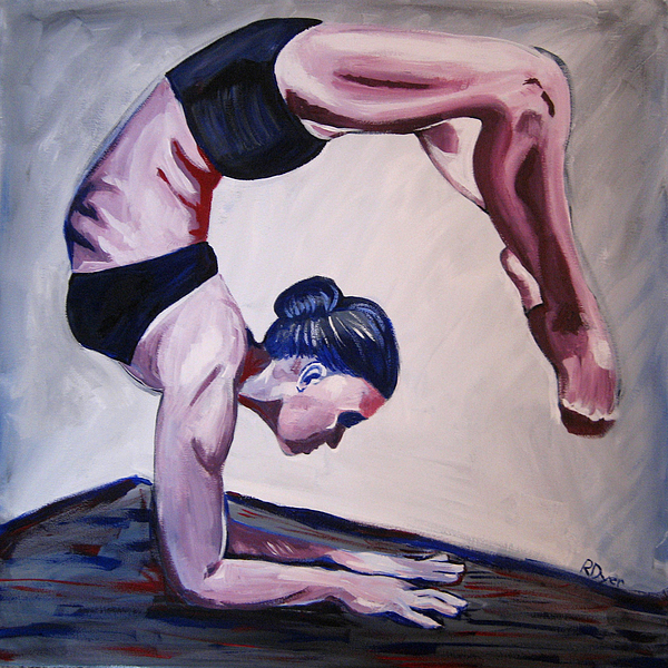 Dance Painting - Balance by Rachelle Dyer