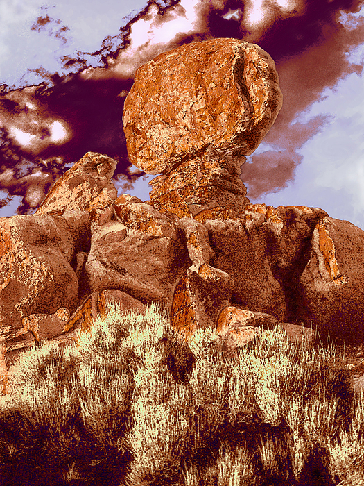 Utah Photograph - balanced In Time by Dean Uhlinger