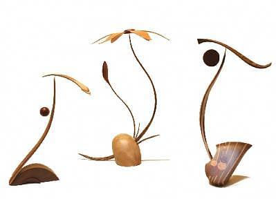 Pendulums Sculpture - Balancing Act by Steven Bunnelle