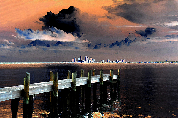 Artwork Painting - Ballast Point by David Lee Thompson