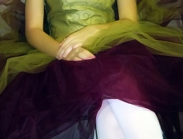 Abstract Photograph - Ballerina Lap by Angelina Vick