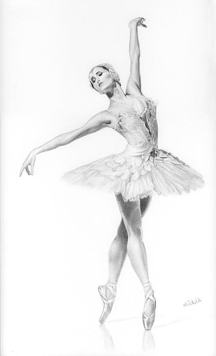 Men Black Ballet Shoe Template Sketch Art