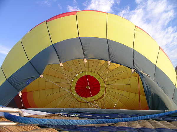 Balloon Photograph - Balloon Inflation by Jim DeLillo