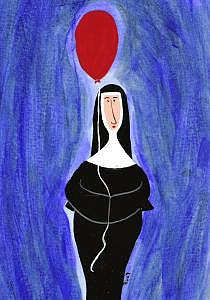 Balloon Painting by Michele Edsall