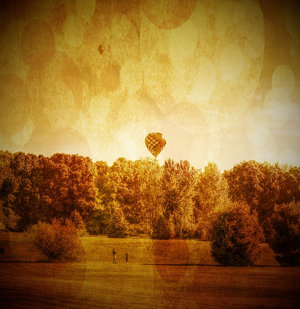 Balloon Photograph - Balloon Nostalgia by Michael Garyet