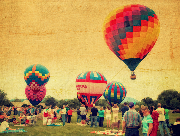 4th Of July Photograph - Balloon Rally by Kathy Jennings