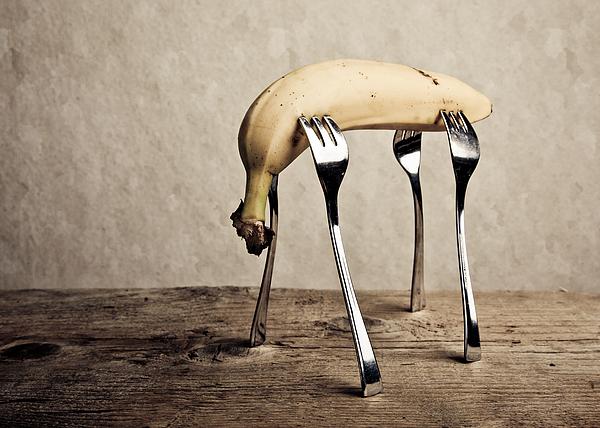Banana Photograph - Banana by Nailia Schwarz